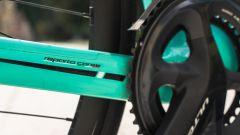 Bianchi Aria e-Road: curata dal reparto corse Bianchi