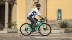 Bianchi Aria e-Road: la prova su strada