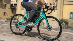 Bianchi Aria e-Road: maneggevole e veloce