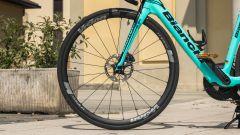 Bianchi Aria e-Road: visuale anteriore