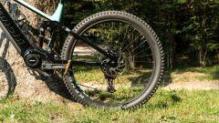 Bianchi T-Tronik Rebel 9.1: la ruota posteriore