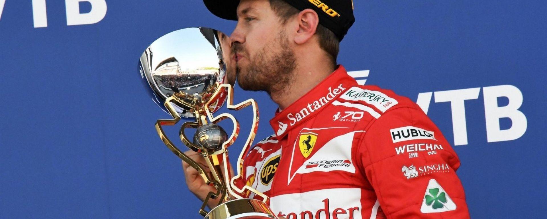 Bicchiere mezzo pieno e pezzo vuoto per la Ferrari?