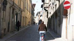 Biciclette contromano. quando sì e quando no