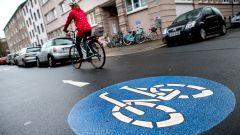 Biciclette contromano: una pista ciclabile