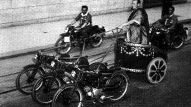 Bighe motorizzate Chariot Racing: si correva nelle botti trainate da moto