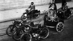 Bighe motorizzate: un momento della gara