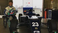 Billy Monger sulla F3 del team Carlin