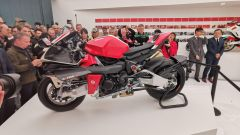Bimota Tesi H2: visuale laterale
