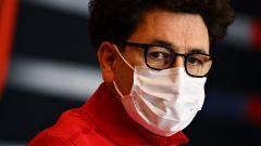 Binotto contro il commento di Vanzini su Leclerc e Ferrari