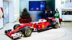 Binotto, Marchionne e Arrivabene - Scuderia Ferrari