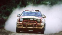 Bjorn Waldegard al volante della Toyota Celica durante il