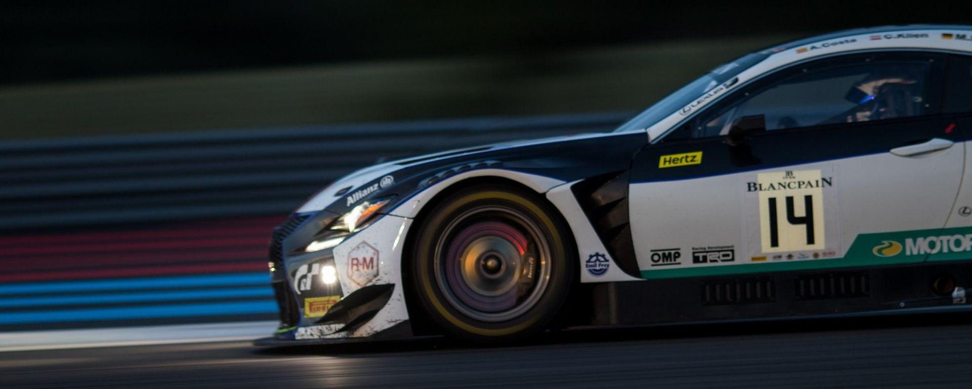 Blancpain GT: Lexus conquista il Paul Ricard davanti a Bentley e McLaren (gallery)