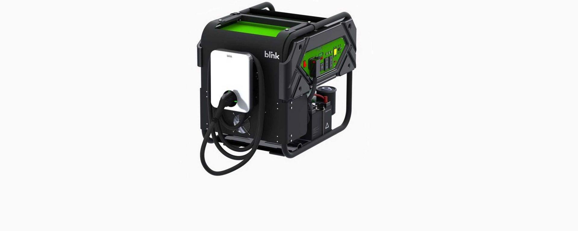 Blink, caricabatterie portatile per auto elettriche
