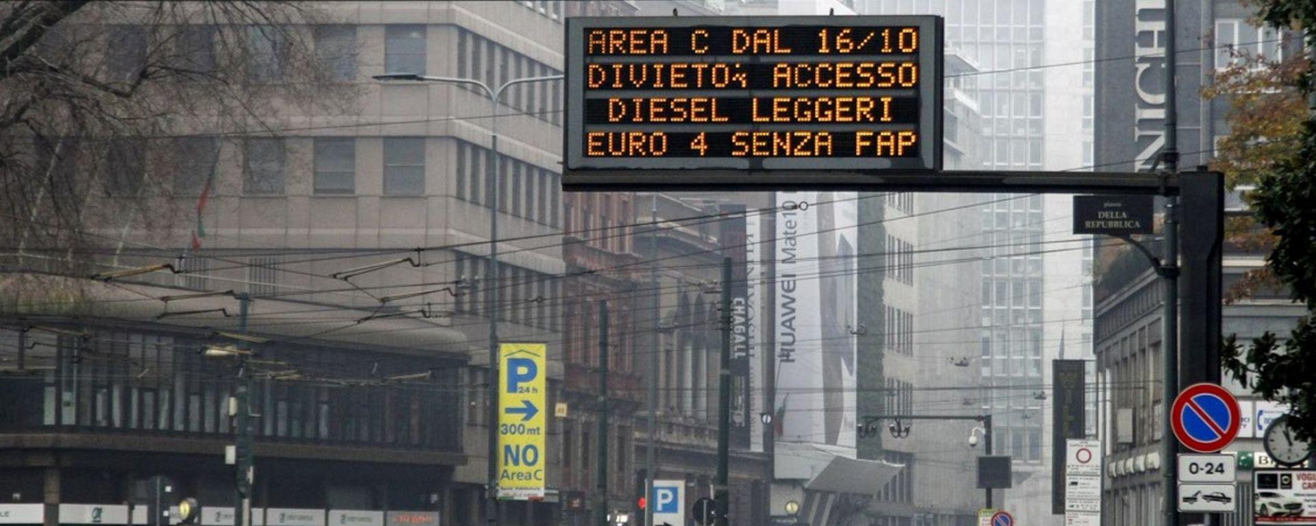 Milano chiude ai vecchi diesel, a gennaio 2019 le telecamere