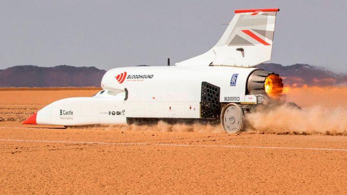 Bloodhound LSR Jet Car: dettaglio postbruciatore