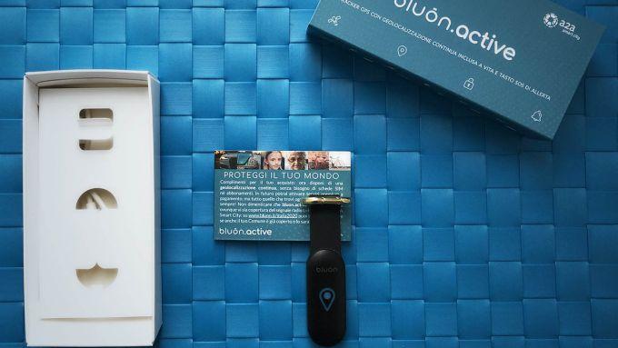 bluon.active: tracker GPS con tasto SOS