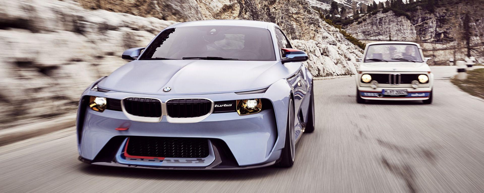 BMW 2002 Hommage: 50 anni di piacere di guida