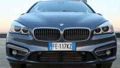 BMW 218d Gran Tourer xDrive: dettaglio del frontale