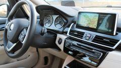 BMW 218d Gran Tourer xDrive: dettaglio della plancia