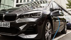 BMW 225xe Active Tourer: dettaglio della ricarica