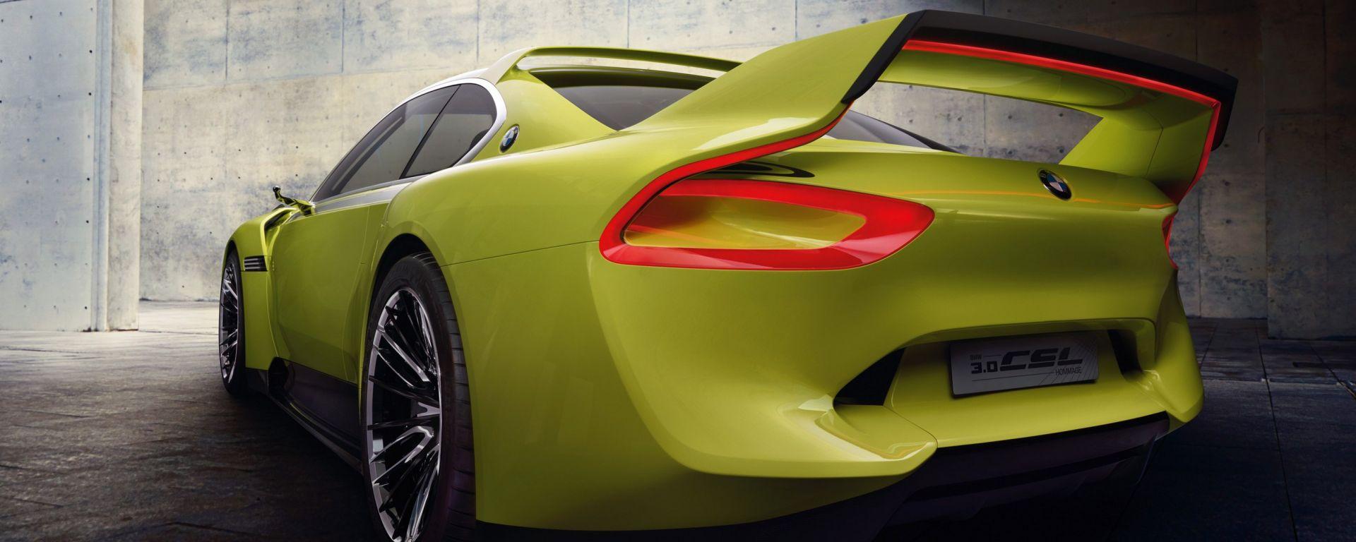 BMW 3.0 CSL Hommage: tutte le foto