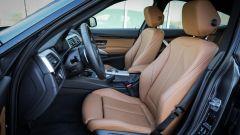 BMW 320d GT xDrive: i sedili anteriori