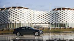 BMW 320d GT xDrive impegnata nelle prove di trazione sulla pista ACI/SARA di Lainate (MI)