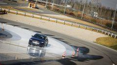 BMW 320d GT xDrive impegnata nelle prove tecniche presso la pista ACI/SARA di Lainate (MI)