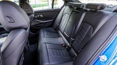 BMW 320d Msport 2019, i sedili posteriori