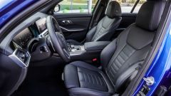 BMW 320d Msport 2019, il posto di guida
