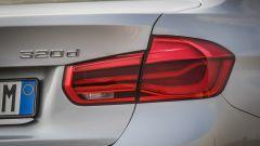 Bmw 320d Sport: dettaglio del fanale posteriore
