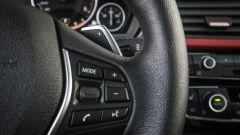 Bmw 320d Sport: dettaglio del volante