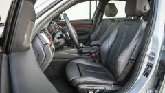 Bmw 320d Sport: i sedili anteriori