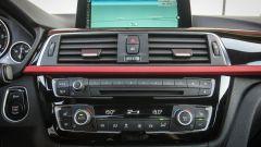 Bmw 320d Sport: il display dell'impianto infotainment