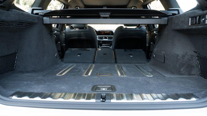 BMW 320d Touring, bagagliaio