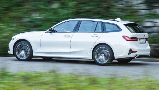 BMW 320d Touring, dinamica