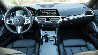 BMW 320d Touring, interni