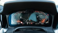 BMW 320d Touring Sport: il quadro strumenti digitale