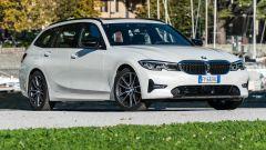 BMW 320d Touring Sport: vista 3/4 anteriore