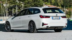 BMW 320d Touring Sport: vista 3/4 posteriore