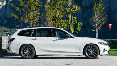 BMW 320d Touring Sport: vista laterale