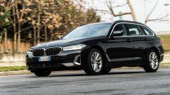 BMW 520d xDrive Touring, 400 Nm di coppia motrice