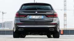 BMW 520d xDrive Touring, il posteriore