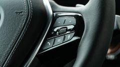 BMW 520d xDrive Touring, il volante multifunzione