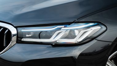 BMW 520d xDrive Touring, in opzione i fari Laser