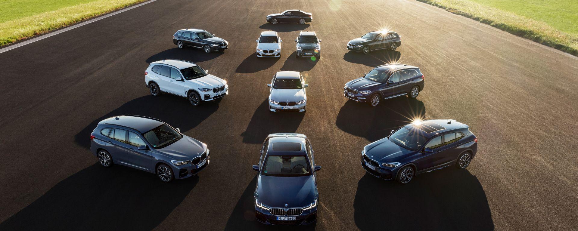 BMW, 7 milioni di unità elettrificate entro il 2030
