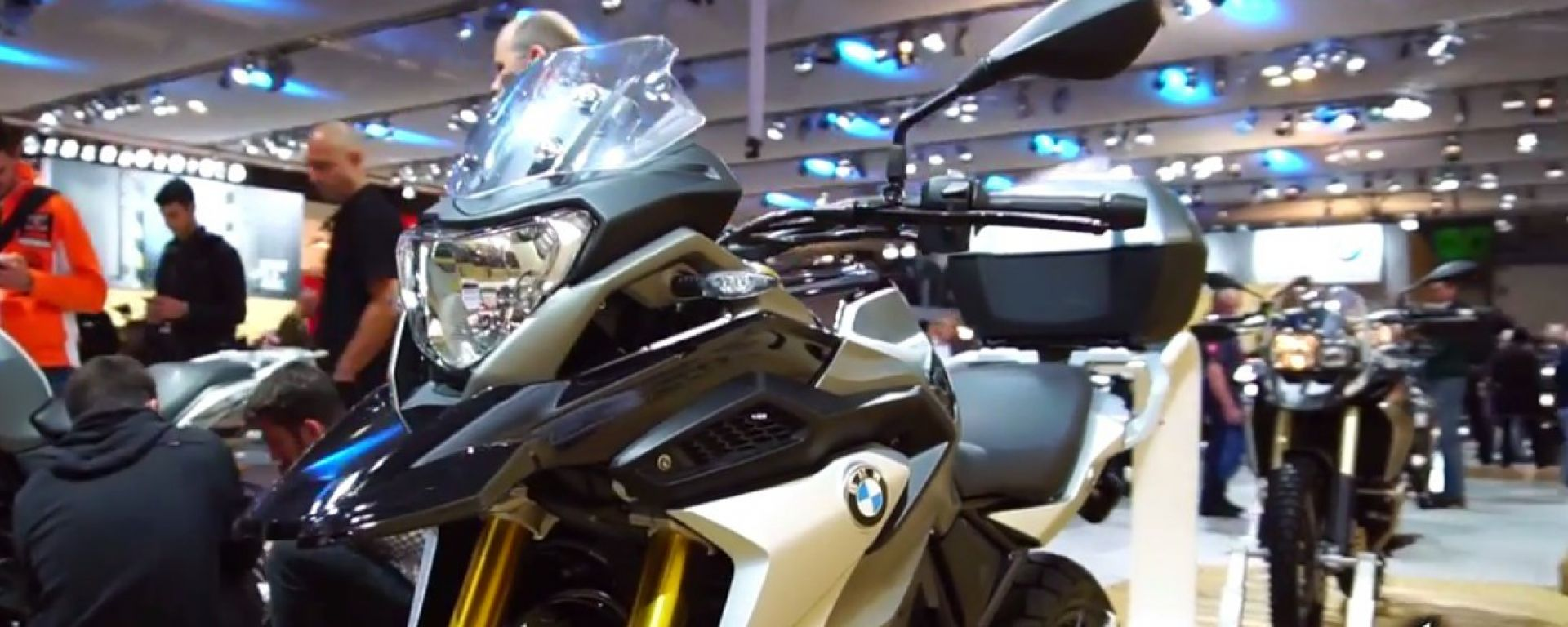 Live Eicma 2016: BMW G 310 GS in video
