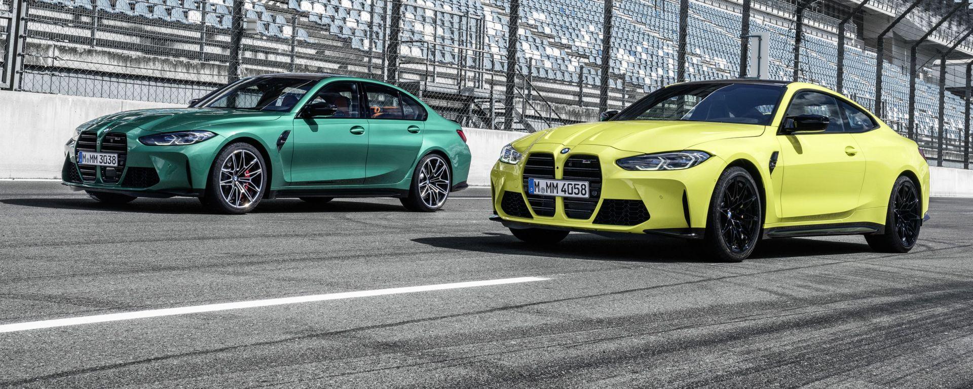BMW a MIMO 2021: le M3 e M4 Competion