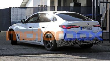BMW Alpina B4 Gran Coupé: in evidenza i quattro scarichi