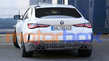 BMW Alpina B4 Gran Coupé: visuale posteriore